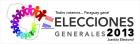 Elecciones Generales 2013. Logo oficial.
