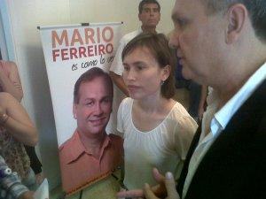 Mario Ferreiro y Cynthia Brizuela Speratti.