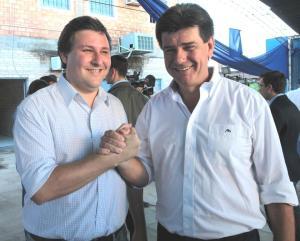 Rafael Filizzola y Efraín Alegra. Dupla presidencial