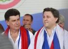Efraín Alegre y Rafael Filizzola